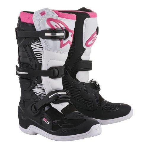 Alpinestars Stella Tech 3 - Black/White/Pink