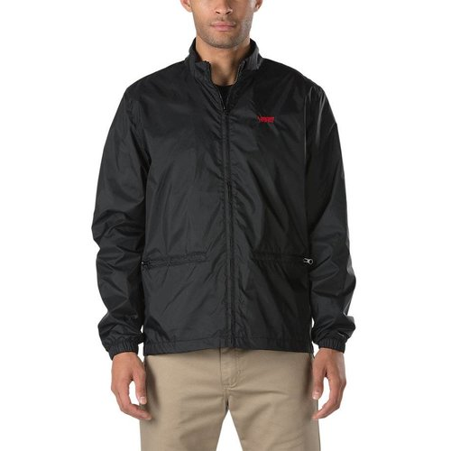 Vans® Nylon Track Jacket - Black