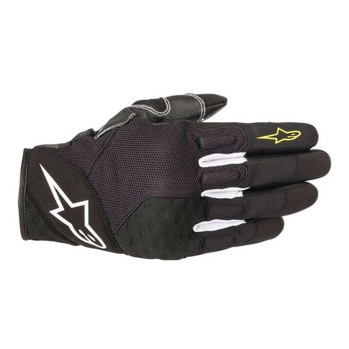 Alpinestars Kinetic Glove - Black/Yellow Fluo
