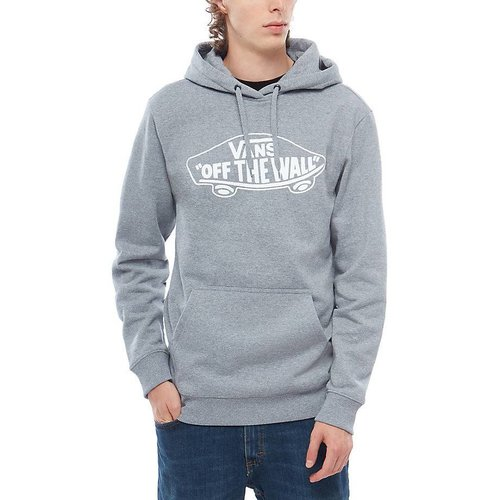 Vans® OTW Pullover Fleece - Concrete Heather/White Outline