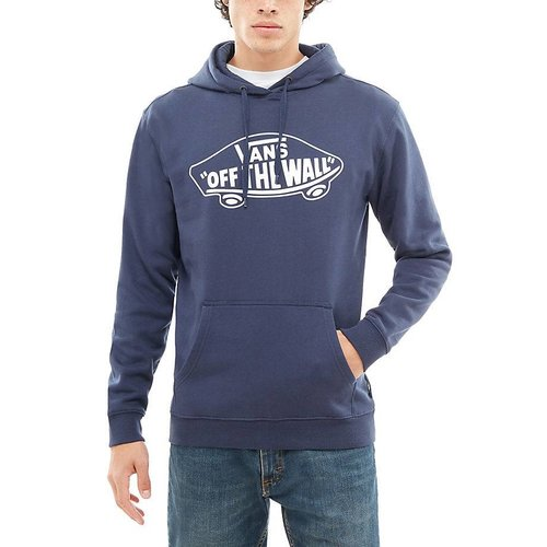 Vans® OTW Pullover Fleece - Deep Blue/White Outline
