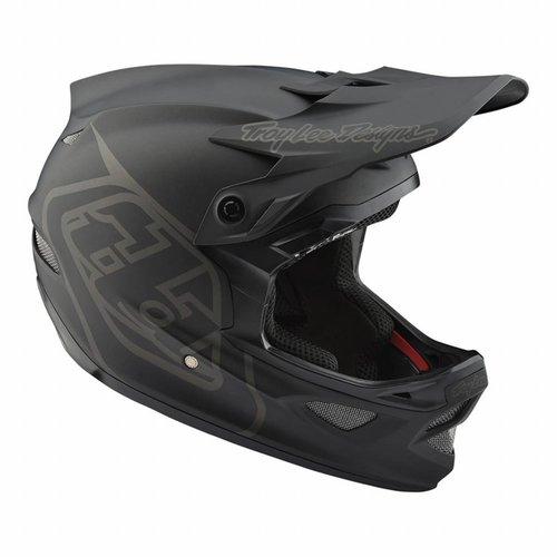 Troy Lee Designs D3 Fiberlite Helmet - Mono Black