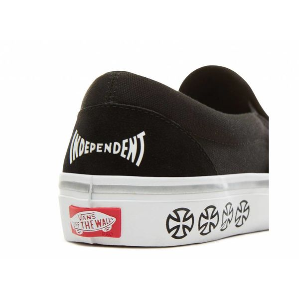 Vans® X Independent Slip-On Pro - Black White Afbeelding vergroten 30bae41b7