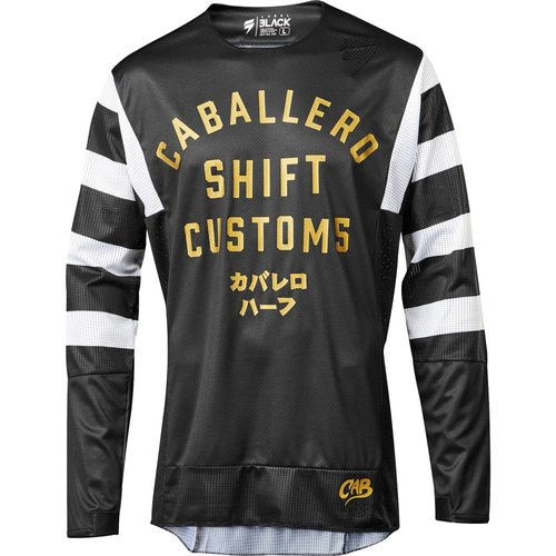 Shift 3lack Caballero X Lab Jersey - Black