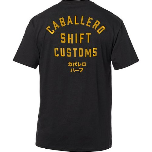 Shift Caballero X Lab Tee - Black
