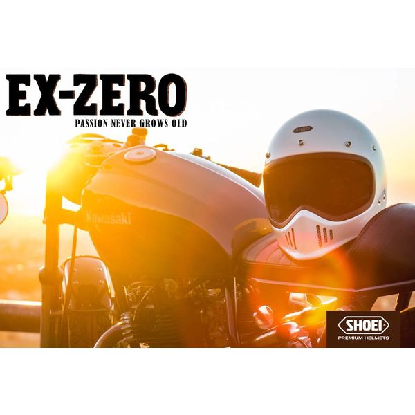 Shoei Ex-Zero - Matte Black