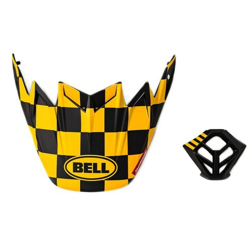 Bell® Bell Checkers PS Moto-9 Visor MP Kit
