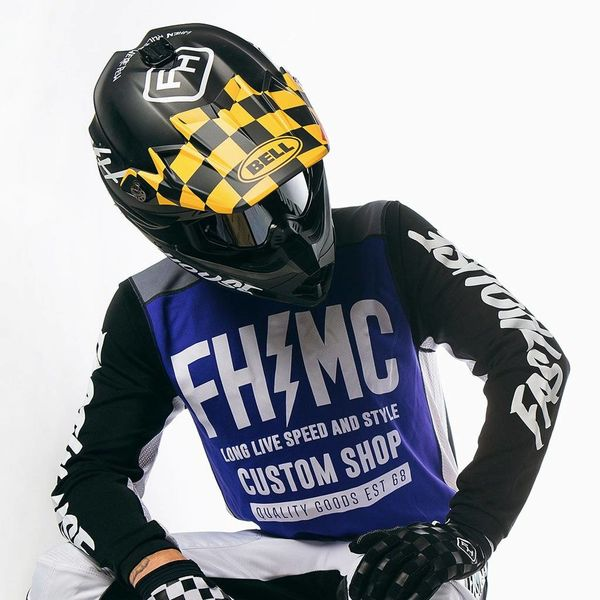 Fasthouse® Checkers PS Moto-9 Visor MP Kit