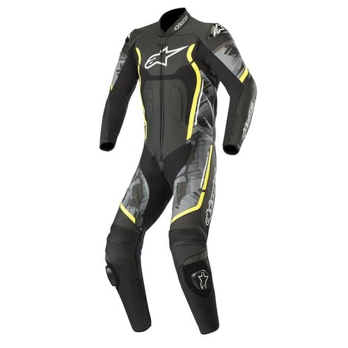 Alpinestars Motegi V2 - Black Camo/Yellow