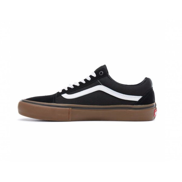Vans® Old Skool Pro - Black/White/Medium Gum