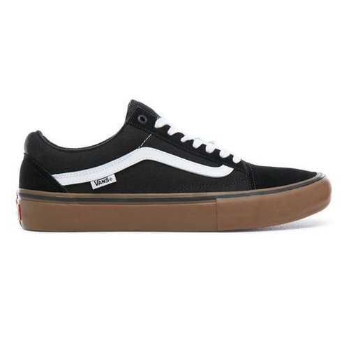 Vans® Old Skool Pro - Black/White/Medium Gum
