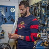 Oxbow® Trager Longsleeve - Marine/Red