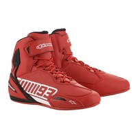 Alpinestars Austin Riding Shoes - Red/White