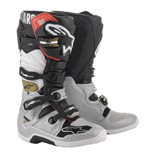 Alpinestars Tech 7 - Black/White/Gold