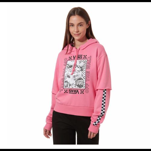 Lady Vans Sting Hoody - Pink