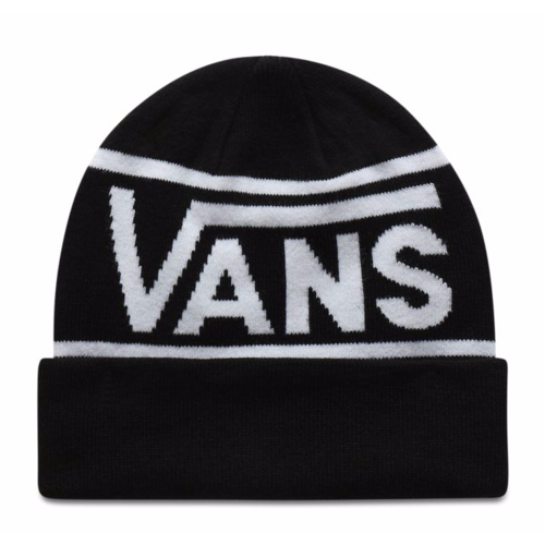 Vans® Drop V Stripe Beanie - Black