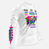 WEBIG Inc Asshaulers Factory Race Jersey - White