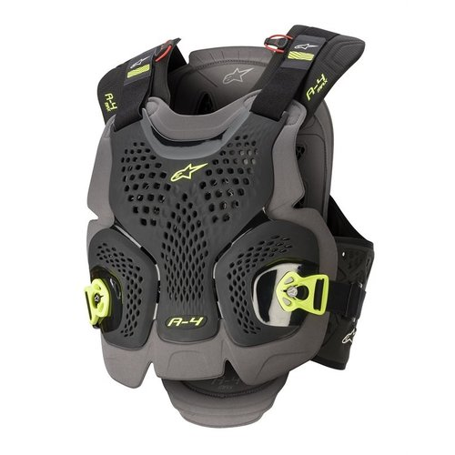 Alpinestars A-4 Max Chest Protector Lvl 1 - Black