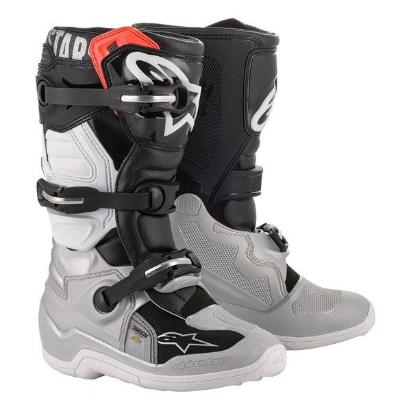 Alpinestars Tech 7 S Boot - Blk/Slv/Wht/Gld