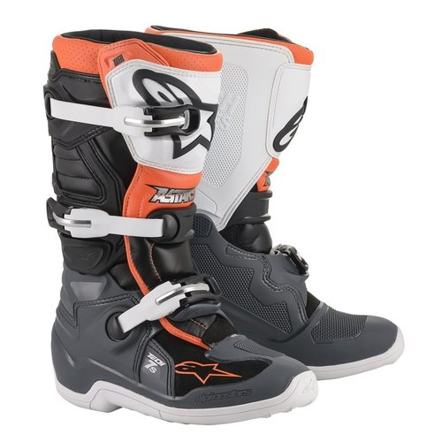 Alpinestars Tech 7 s - BK/GR/WH/ON/FL