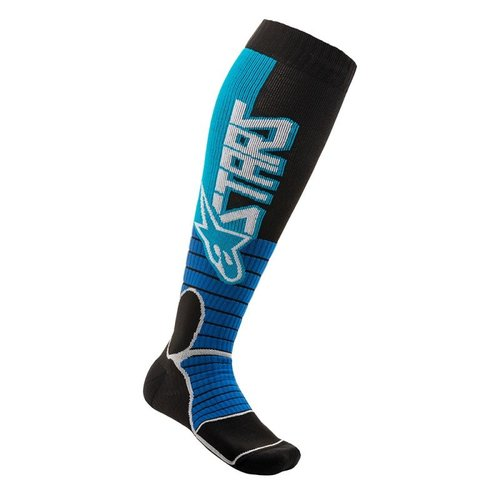Alpinestars Mx Pro Socks - Cyan/Black