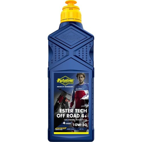 Putoline Ester Tech Off-Road 4+ 10W 50 1L