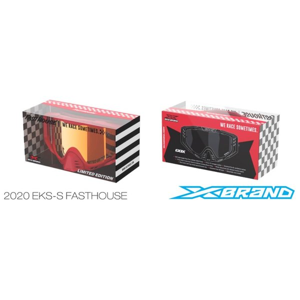 Fasthouse® EKS-S Goggle - Red