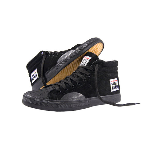 Vision Suede High - Black