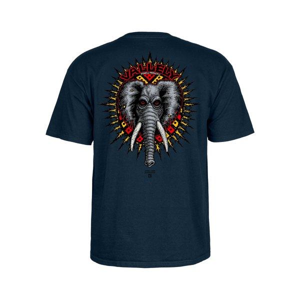 Powell Peralta Vallely Elephant T-Shirt - Navy