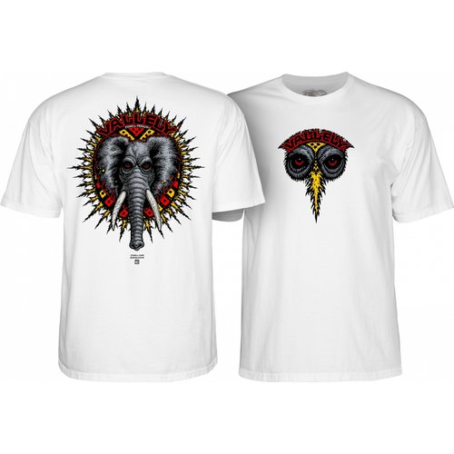 Powell Peralta Vallely Tee - White