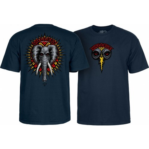 Powell Peralta Vallely Elephant T-Shirt - Navy