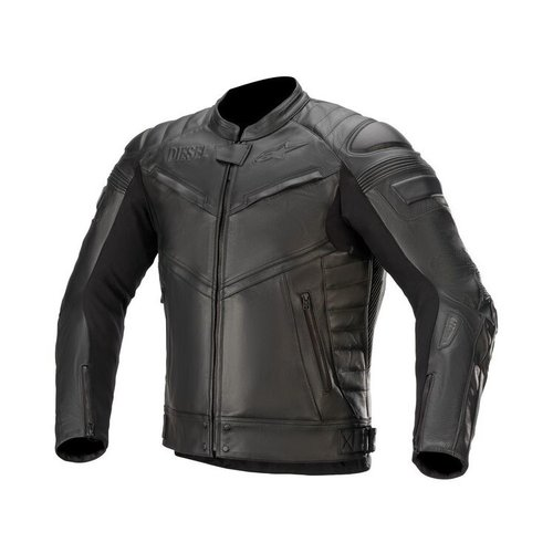 Alpinestars Diesel Shiro Tech-Air Leather Jacket - Black