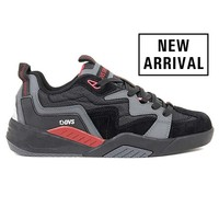 DVS® Devious - Charcoal/Black/Red/Nubuck