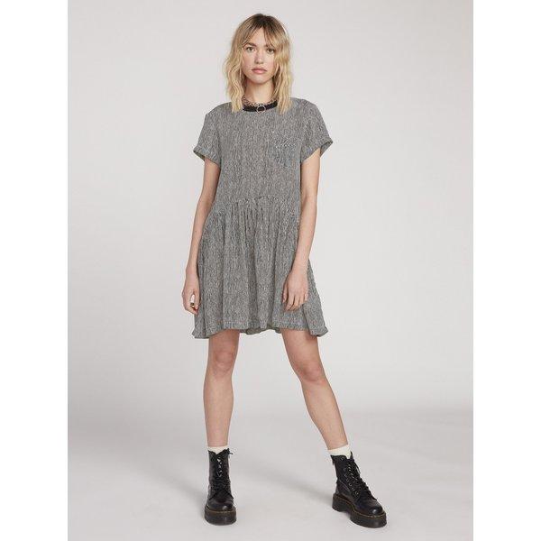 Volcom Newdles Dress -Stripe