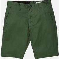 Volcom Frickin Modern Stretch Short - Navy Green