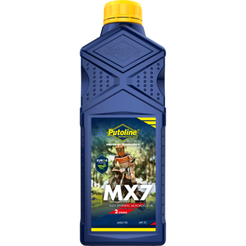 Putoline MX-7 100% Full Synthetic Ester-Tech 2-Stroke  Oil 1L