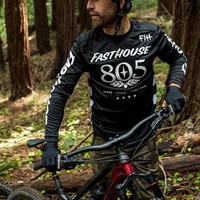 Fasthouse® Classic 805 LS Jersey - Black