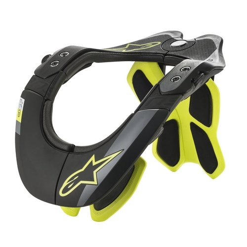 Alpinestars Bionic BNS Tech 2 Neck Support - Black/Yellow