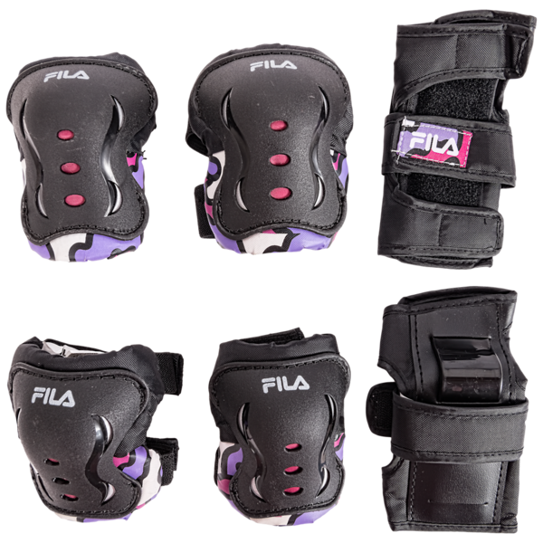 Fila®  FP 3-Pack Gears Lady - Black/White/Pink