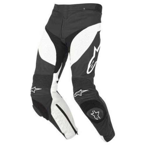 Alpinestars Track Leather Pant - Black/White