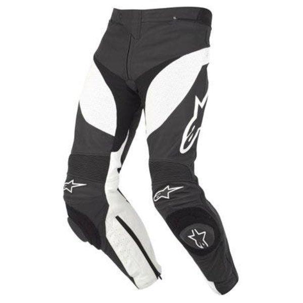 Alpinestars Track Leather Pant - Black/White