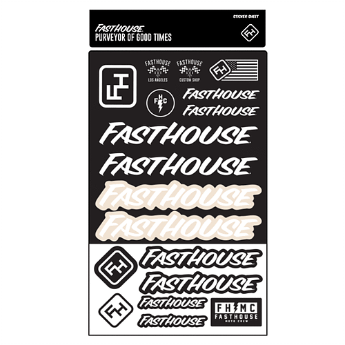 Fasthouse® Sticker Sheet
