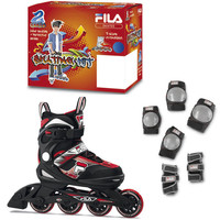 Fila®  J-One Combo 2-Set - Black/Red