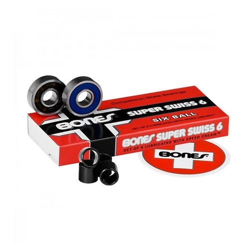 Bones® Bearings Super Swiss 6 Six Balls