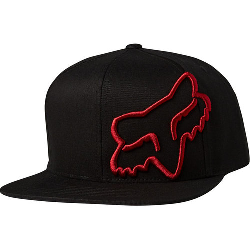 Fox Headers Snapback - Black/Red