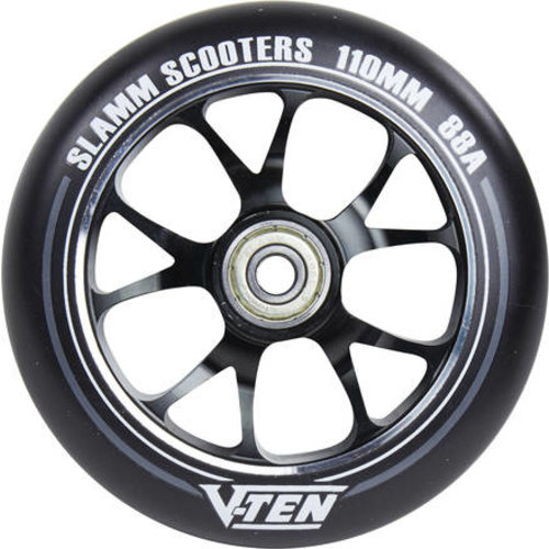 Slamm 110mm Alloy Wheel - Black