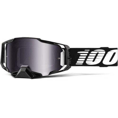 100% Armega - Black/Silver Mirror