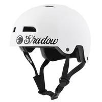 Shadow Classic Bmx Helmet - Gloss White