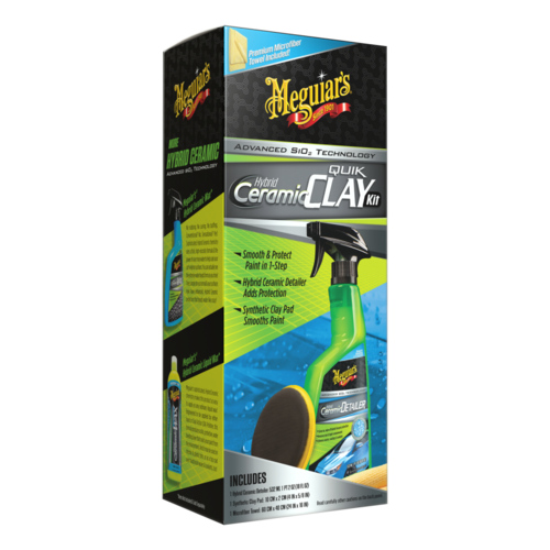 Meguiar's® Hybrid Ceramic Quik Clay Kit