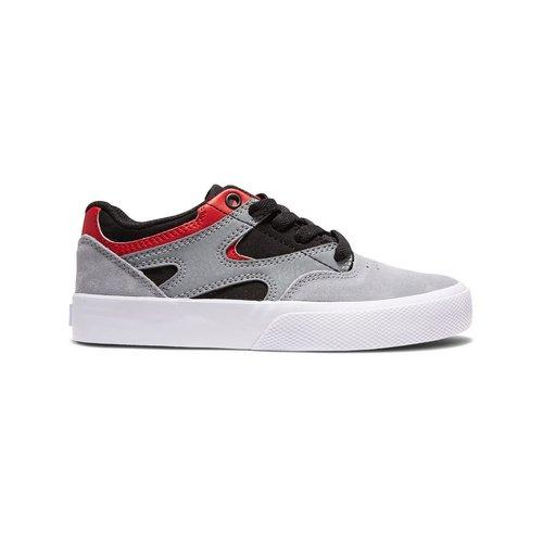 DC® Youth Kalis Vulc - Black/Grey/Red